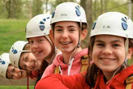 Aerial Extreme - Child or Adult Ticket to Adventure Course - Save 50%
