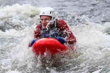 Bodyboating - Session of white water bodyboating for one or two - Save 47%