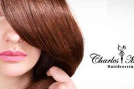 Charles Mbiro Hairdressing - LKerabelle Brazilian Blow Dry Plus Cut - Save 71%