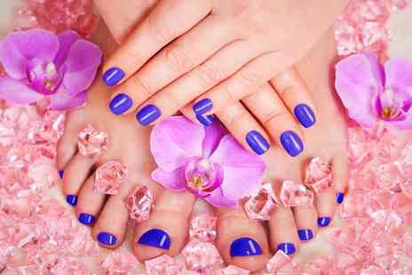 Tantalizing Spa - Express OPI manicure and pedicure - Save 53%