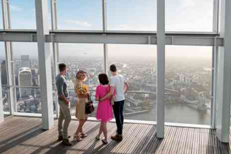Shard Viewing Gallery Management - The View from The Shard entry & champagne - Save 24%