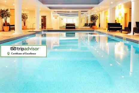 Stoke By Nayland Hotel - Luxury overnight spa stay for two including breakfast, Rasul mud treatment and cream tea - Save 37%