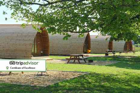 Wigwam Holidays Crowtree - Two night wigwam stay for up to four and two dogs - Save 47%