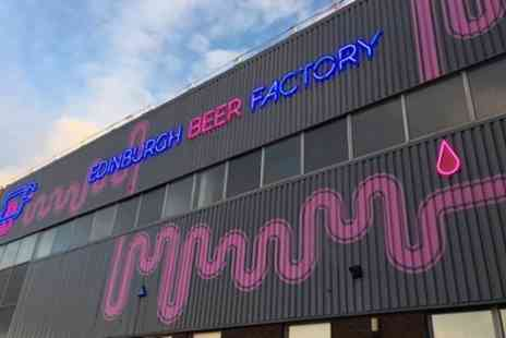 Edinburgh Beer Factory - Two or Four Pints of Paolozzi Beer and a Paolozzi Glass to Take Home - Save 0%