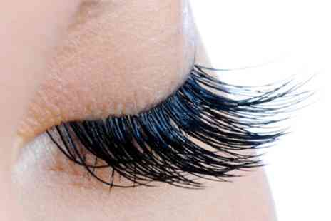 Zamys Massage & Beauty - Full Set of Eyelash Extensions with an Optional Eyebrow Tint - Save 41%