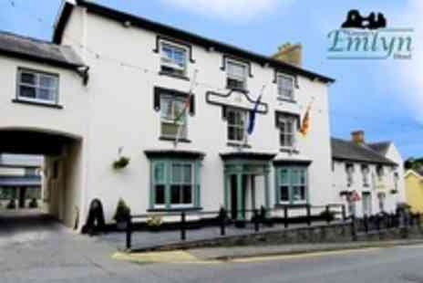 Gwestyr Emlyn Hotel - In West Wales Three Night Stay For Two With Breakfast - Save 61%