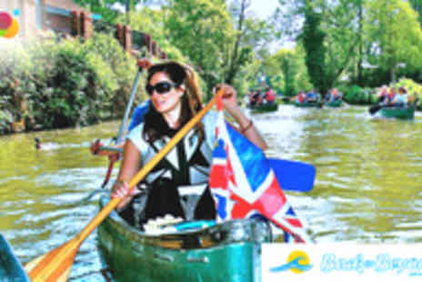 Back of Beyond  - 2hr Canoeing Experience on the River Thames in Richmond - Save 65%