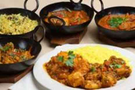 Taj Palace - Starter, main and a side dish for two people - Save 63%