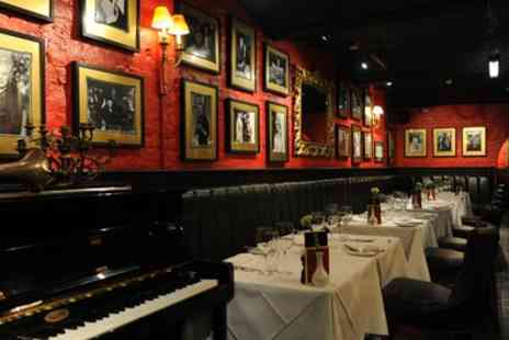 Boisdale of Bishopsgate - Chargrilled Chateaubriand Steak with Sauce, Sides, Prosecco and Live Jazz for Two - Save 50%