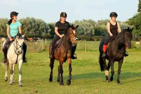 Croft Riding Centre - 45 Min Horse Riding Lesson for One or Two Kids or One Hour for One or Two Adults - Save 54%