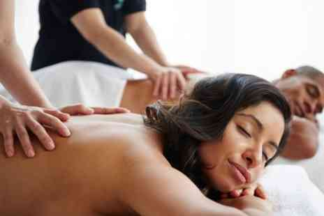 The Treatment Studio - Choice of Swedish or Hot Stone Massage for Couples - Save 53%
