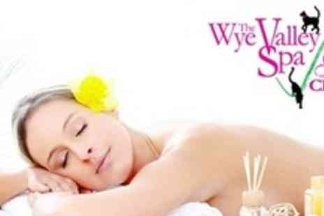 Wye Valley Spa - Spa Day For Two Including Facial, Head Massage,  Shellac Manicure, and Cocktail - Save 62%