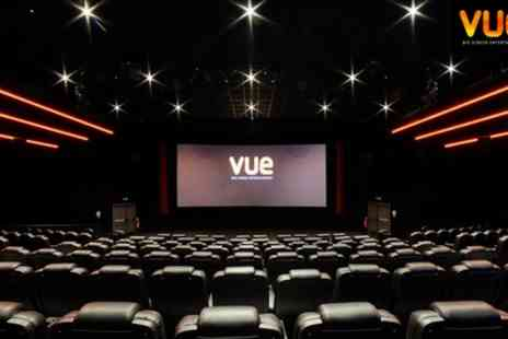 Vue - Three Cinema Tickets Valid at over 80 Locations Nationwide Valid from 29th August - Save 57%