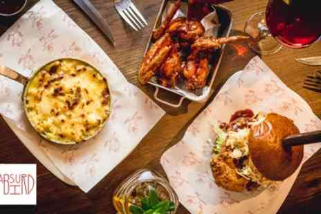 Absurd Bird - American Inspired Three Course Meal for Up to Four - Save 38%