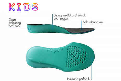 Sole Control - Kids full length insole - Save 71%