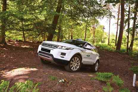Brandscape - Land Rover off road driving experience for 11 to 17 year olds with Start Off Road - Save 0%