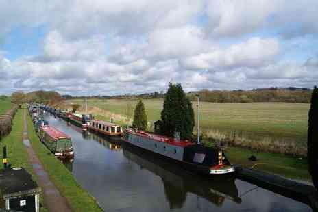 Norbury Wharf - Canal cruise on The Shropshire Star for one, two or family of four with a cream tea - Save 53%