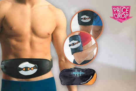 Internet Shop - Abs, arms and legs toning belt and electronic pads - Save 75%