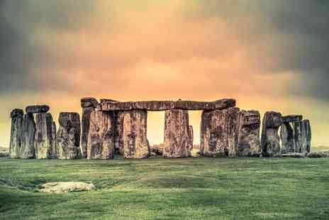 Lets Travel Services - Ticket for a Cotswolds coach tour with Stonehenge visit and cream tea - Save 37%