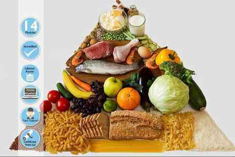 Centre of Excellence - Online diet and nutritional advisor course - Save 80%