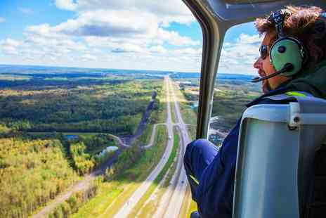 Whizzard Helicopters - Seven Mile Helicopter Flight for One or Two - Save 35%