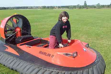 Experience Limits - Five or Ten Lap Hovercraft Exprience - Save 0%