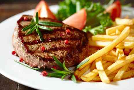 Radisson Blu - Steak Meal with Fries or a Salad for Two or Four - Save 0%