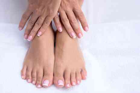 Beauty By Kimberley - Manicure, Pedicure or Both with Shellac - Save 67%