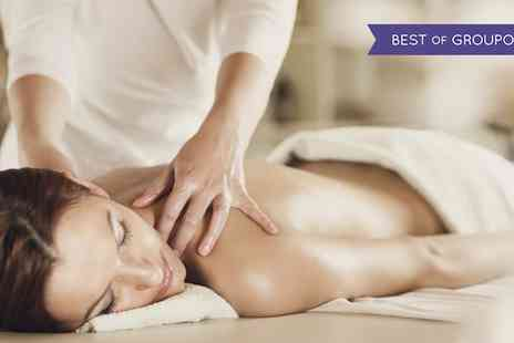 House of Glamour - 60 or 30 Minute Massage with Facial - Save 46%