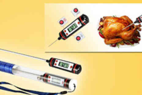 EDDProducts - Cook the perfect meal every time with this digital food thermometer - Save 55%