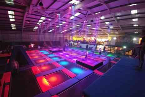 Energi Trampoline Park - One Hour Trampoline Session with Cordial for One or Up to Four - Save 0%