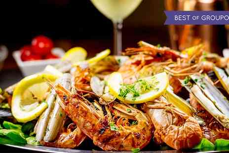 The Old Sail Loft Restaurant - Mixed Seafood Platter with a Glass of Prosecco Each for Two or Four - Save 0%