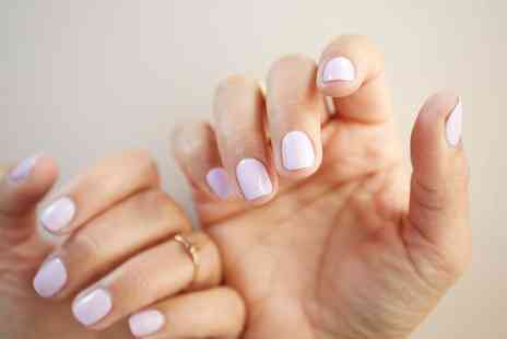 Kristines Hair and Beauty Services - Shellac Manicure, Pedicure or Both - Save 25%