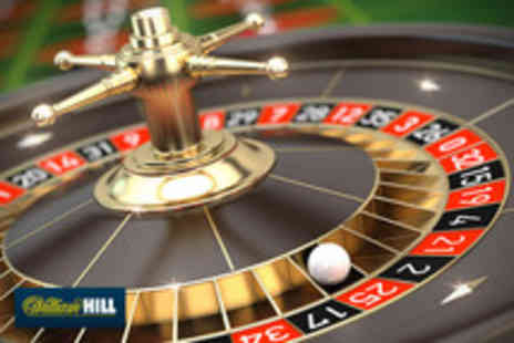 Williamhill.com - £30 Voucher to spend online on the casino games - Save 83%