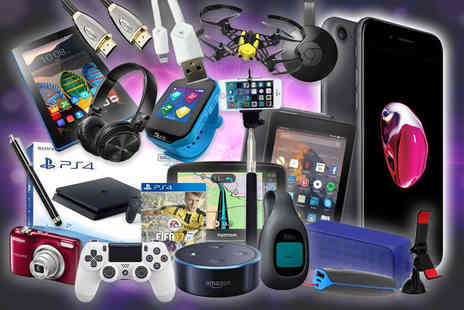 Fone Giant - Mystery electronics deal from Apple iPhone 7, Fitbit, Cables, Lenovo, JVC, Philips, TomTom, Amazon, PS4, Powerbank and more - Save 0%