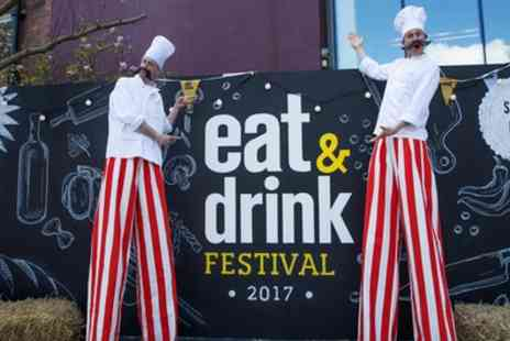 Eat And Drink Festival - Two Tickets to Christmas Eat and Drink Festival on 9 to 12 November - Save 53%