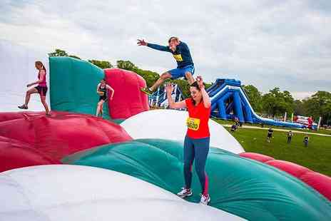 Be Gung Ho - Ticket to take part in an inflatable 5k run in Norwich or East Midlands - Save 19%