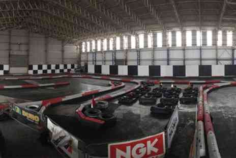 West Wales Karting - 25 Laps of Go Karting for Two, Four or Six - Save 50%