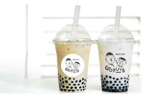 Gonuts - One, Two or Four Bubble Teas - Save 27%