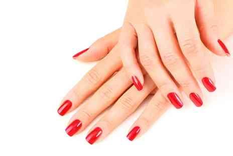 Jadore Beauty and More - Gel Manicure or Gel Manicure and Pedicure - Save 0%
