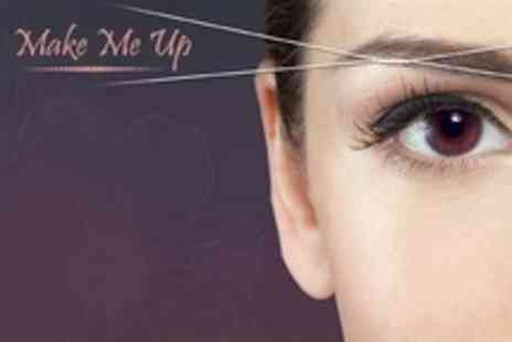 Make Me Up - Five Sessions of Eyebrow Threading - Save 60%
