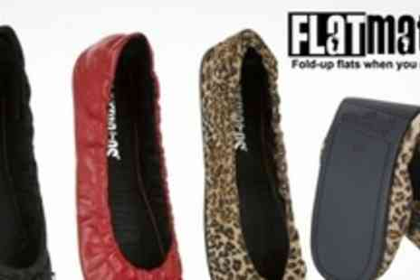Redfoot Shoes - Two Pairs of Flatmates Foldable Ballet Pumps with Flexible Sole - Save 67%