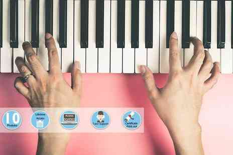 Centre of Excellence - Online learn to play the Piano course - Save 93%