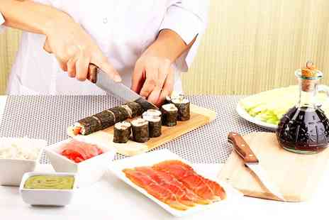 The Smart School of Cookery - Sushi Making Taster Experience or Class for One or Two - Save 61%