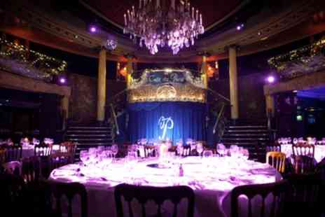 Cafe De Paris - Seven Sins Friday Cabaret Show with Two Course Dinner, Cocktail and Club Entry for Up to Four - Save 41%