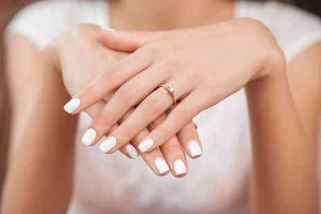 VIP Salon - Gel Manicure or Pedicure, or Both plus Refreshment - Save 27%