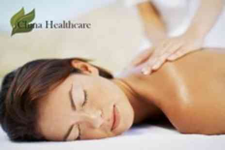 China Healthcare - One Hour Full Body Massage Plus Cupping Session - Save 71%