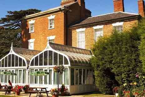 The Glebe Hotel Barford - Two  night Warwickshire stay w/dinner & wine - Save 51%