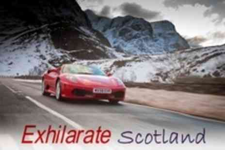 Exhilarate Scotland - Supercar Driving in The Highlands - Save 77%