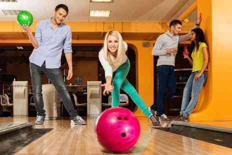 MFA Bowl - Two games of bowling and shoe hire for up to four - Save 68%